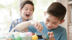Les idées du web pour décorer des œufs avec les