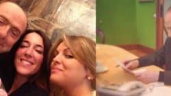 Pasquetta al lavoro per Berlusconi. Selfie con la Pascale e l'eurodeputata