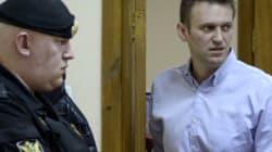 Menacé de prison, l'opposant russe Alexeï Navalny clame son