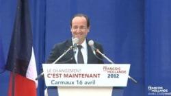 Hollande à Carmaux: triomphe en 2012, huées en