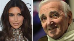 Génocide arménien: Kardashian et Aznavour, même