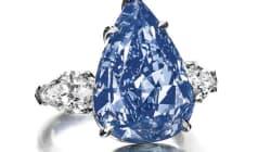 Un spectaculaire diamant bleu sera vendu aux