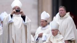 Las imágenes más llamativas de la ceremonia de canonización