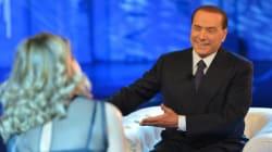 Silvio Berlusconi intervistato a Domenica