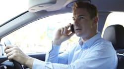 Plus d'un tiers des conducteurs téléphonent au