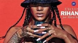 Rihanna topless en couverture de