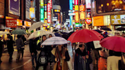 関東は帰宅時間に雨脚強まる 雨のピークは今夜