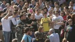 Protestan... ¡en defensa del lanzador del