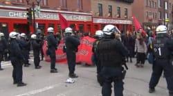 Journée internationale des travailleurs: une centaine d'arrestations à la manifestation de la CLAC