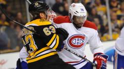 Le Canadien l'emporte contre les Bruins de