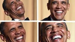 Le meilleur (et le pire) des blagues de Barack Obama à la