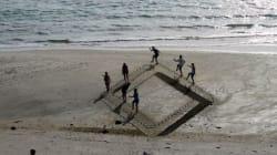 Nuova Zelanda: la spiaggia è in 3D