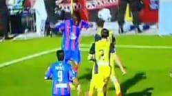 En Espagne, la nouvelle réponse d'un footballeur à des actes
