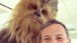 La première image de Chewbacca sur le tournage de Star Wars