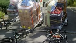 Déménager en vélo: simple, économe,
