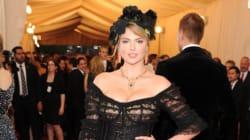 Kate Upton's Illusion Dress Shows A Ton Of