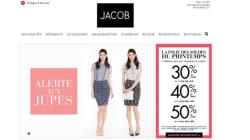 La chaîne de vêtements Jacob ferme