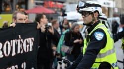 Centre-ville de Montréal : une nouvelle manifestation contre la brutalité