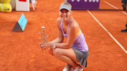 WTA: Sharapova dompte la terre battue de