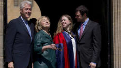 Proud Parents Bill And Hillary See Chelsea Graduate --