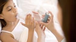 Les médicaments contre l'asthme freineraient la croissance des