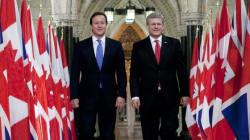 British PM's Much-Publicized Visit To Canada Was Apparently