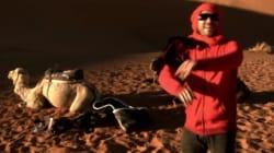 Un rico hace su sueño realidad como camellero en Marruecos