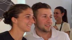 Internazionali di tennis, Nicola palleggia con Sara