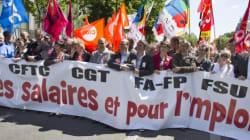 Salaires : des dizaines de milliers de fonctionnaires défilent en
