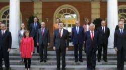 Los ministros de Rajoy ya tienen nueva foto