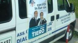 La campagna elettorale in ambulanza