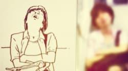 LINEのスタンプで有名なイラストレーターの街角スケッチがすごい【画像】
