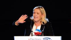 Marine Le Pen salue le