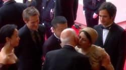 Cannes: Leila Hatami s'excuse pour sa bise qui a fait