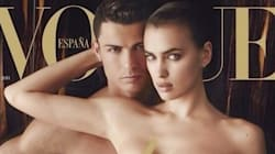 Cristiano Ronaldo nu en couverture de