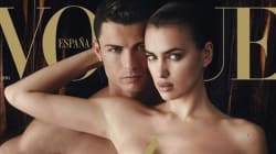 Cristiano Ronaldo Goes Nude For