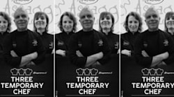 Three Temporary Chef, menù diverso stesso