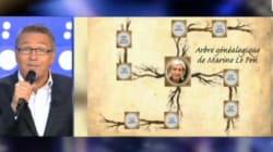 Dessins sur Le Pen: Ruquier condamné pour la croix gammée, pas pour