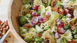 Salade de pâtes, brocolis et