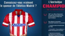 RSF détourne le maillot de l'Atlético pour dénoncer son