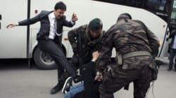 Le conseiller d'Erdogan qui a frappé un manifestant a été
