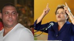 Mal-estar Fenomenal: Ronaldo deixou Dilma