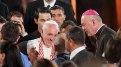 Le pape François aborde la partie la plus risquée de sa visite en Terre