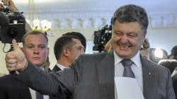 Ukraine : Porochenko donné vainqueur au 1er tour avec