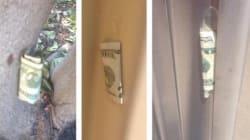 Un riche anonyme cache de l'argent partout à San Francisco
