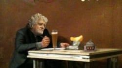 Solo, davanti ad una birra e a una scatoletta di