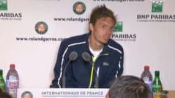 Roland-Garros 2014: un journaliste provoque un gros malaise