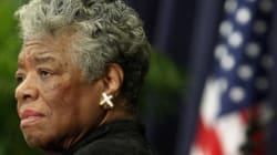 Maya Angelou, une des figures des droits civiques s'est