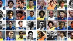 I 100 calciatori più forti di sempre ai Mondiali