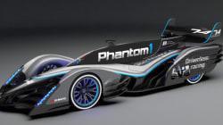 Phantom 1, la voiture de course contrôlée à